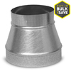 IMPERIAL 4-in Dia x 3-in Dia Duct Reducer