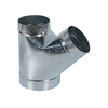 IMPERIAL 10-in Dia Galvanized Cross Tee Fitting