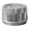 IMPERIAL 4-in Galvanized Steel Round Storm Duct Starting Collar