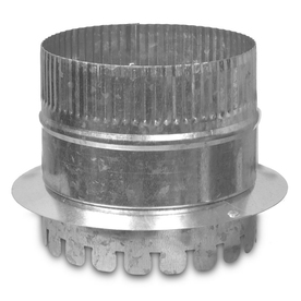 IMPERIAL 12-in Galvanized Steel Ductboard Duct Starting Collar