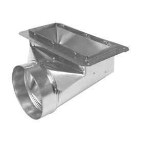 IMPERIAL 8-in x 14-in Galvanized Duct