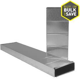 IMPERIAL 3.25-in x 10-in x 36-in Galvanized Steel Stack Duct