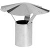 IMPERIAL 3-in Dia Galvanized Steel Rain Cap