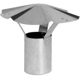 IMPERIAL 6-in Dia Galvanized Steel Rain Cap