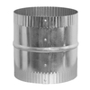 IMPERIAL 8-in Dia Crimped Galvanized Steel Flexible Duct Connector