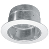 IMPERIAL 6-in Galvanized Steel Airtight Adhesive Duct Take-Off