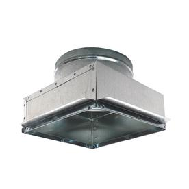 IMPERIAL 8-in x 10-in Galvanized Duct