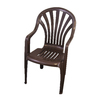 Gracious Living Plastic Patio Dining Chair