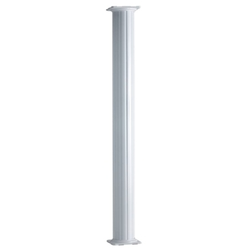 8-in x 8-ft Unfinished Aluminum Round Column