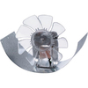 SUNCOURT 8-in x 4-in Galvanized Duct