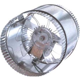 SUNCOURT Inductor In-Line Duct Fan 6-in Dia Galvanized Steel Axial Duct Fan