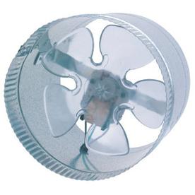 SUNCOURT Inductor In-Line Duct Fan 8-in Dia Galvanized Steel Axial Duct Fan