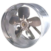 Inductor Inductor In-Line Duct Fan 10-in Dia Galvanized Steel Axial Duct Fan