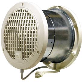 ThruWall 9.875-in x 6.5-in x 9.875-in Corded Through Wall Fan