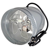 SUNCOURT Inductor 8-in Dia Galvanized Steel Axial Duct Fan