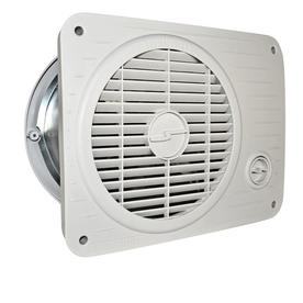 SUNCOURT 10-in x 6.5-in x 12.5-in Hardwired Through Wall Fan