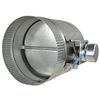 ZoneMaster 8-in x 8-in Galvanized Duct
