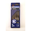 Kobalt 5-Piece #1-5 Screw Extractor Set