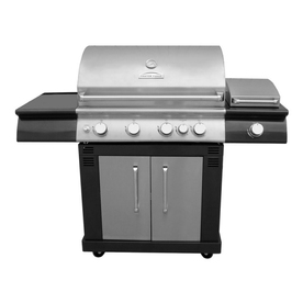Master Forge 4-Burner Liquid Propane and Natural Gas Grill