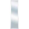 13.5-in x 49-in White Rectangle Framed Wall Mirror