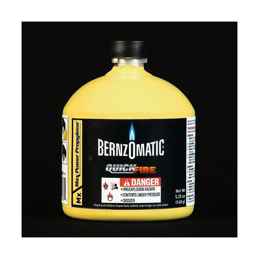 Shop BernzOmatic 5.5 oz Quickfire Fuel Cylinder at Lowes.com