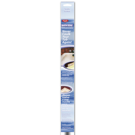 "Magic 1-1/4"" x 64"" White Bath Sealant"