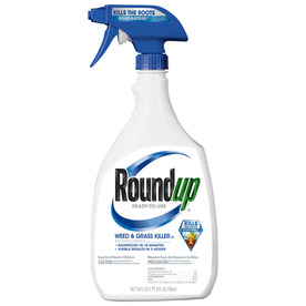 Roundup 24 Oz. Weed and Grass Killer Ready-to-Use