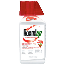 Roundup 32 Oz. Weed and Grass Killer Concentrate Plus