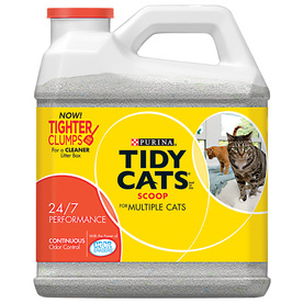 TIDY CATS 20-lbs Clay Cat Litter for Multiple Cats