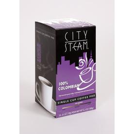 City Steam 18-Pack Columbian Blend Single-Serve Coffee