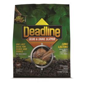 shop deadline 3 lb granular snail and slug killer at