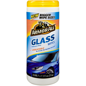 Armor All Glass 25-Count Car Interior Cleaner