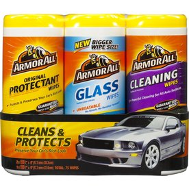 shop armor all armor all wipes 75 count car interior cleaner at. Black Bedroom Furniture Sets. Home Design Ideas