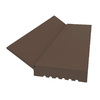 Royal Mouldings Limited 7/16-in x 2-in x 7-ft Painted Vinyl Stop Moulding (Pattern 02149)