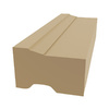 Royal Mouldings Limited 1-1/4-in x 2-in x 10-ft Paint Grade Vinyl Brick Moulding (Pattern 2448)