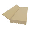 Royal Mouldings Limited 7/16-in x 2-in x 9-ft Paint Grade Vinyl Stop Moulding (Pattern 2149)