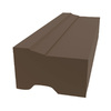 Royal Mouldings Limited 1-1/4-in x 1-15/16-in x 8-ft Painted Vinyl Brick Moulding (Pattern 02448)