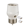 Utilitech Outdoor/Indoor Dusk to Dawn Light Control for CFL/LED Bulbs (White)