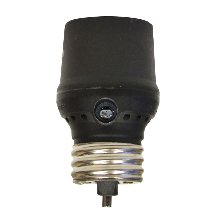 Dusk To Dawn Light At Lowes: Shop Utilitech Bronze Dusk-To-Dawn Security Light Control