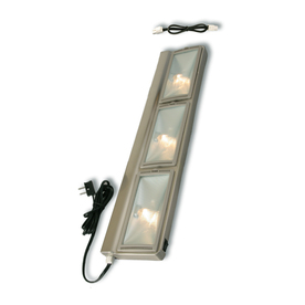 Utilitech 24 in. 60W Xenon Under Cabinet Light, Nickel Finish