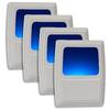 AmerTac 4-Pack White LED Night Light
