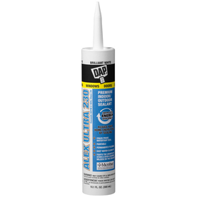 DAP 10.1 oz Brilliant White Latex Window and Door Caulk