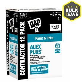 DAP ALEX PLUS White Paintable Latex Window and Door Caulk