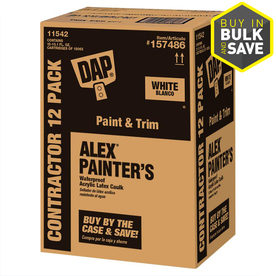 DAP ALEX White Paintable Latex Window and Door Caulk