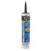 DAP DYNAFLEX 230 10.1-oz Brown Paintable Latex Window and Door Caulk