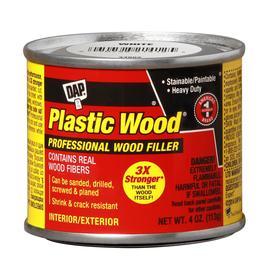 Shop Dap Plastic Wood White Solvent Wood Filler At