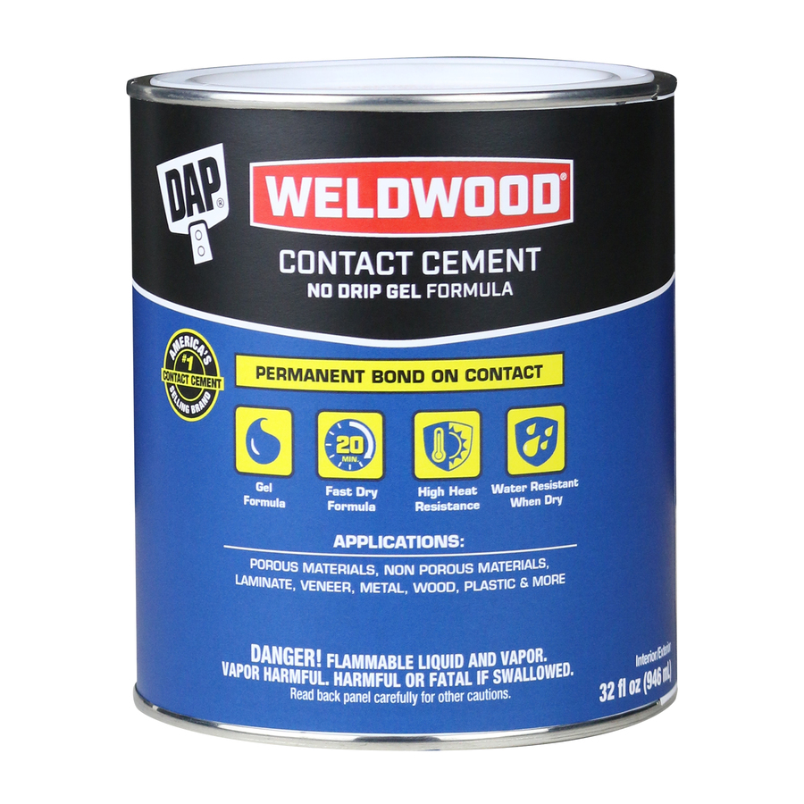 Shop Dap 32 Oz Contact Cement Adhesive At Lowes Com