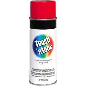 Rust-Oleum Touch and Tone Multi-Purpose Cherry Red Fade Resistant Enamel Spray Paint (Actual Net Contents: 10-oz)