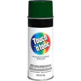 Rust-Oleum Touch and Tone Multi-Purpose Hunter Green Fade Resistant Enamel Spray Paint (Actual Net Contents: 10-oz)