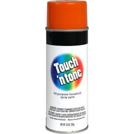 Rust-Oleum Touch and Tone Multi-Purpose Orange Fade Resistant Enamel Spray Paint (Actual Net Contents: 10-oz)